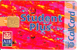IRELAND - A..I.B. Student Plus, Chip ODS 3, Tirage 18000, 12/96, Used - Ireland