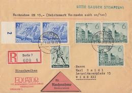 DR R-NN-Brief Mif Minr.2x 740,2x 742,745 Berlin 21.5.40 - Deutschland