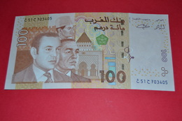 MOROCCO - 100 DIRHAMS - 2002 - UNC - FDS - NEUF - Marruecos