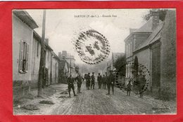 SARTON -  Grande Rue  - 1923 - (Soldats) - - Sonstige Gemeinden