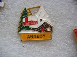 Pin's Du Téléphérique D'Annecy - Winter Sports