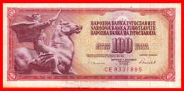 BILLETE YUGOSLAVIA. 100 DINARES. 1986. - Yugoslavia
