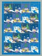 Denmark. Christmas Sheet 2005. Danish Church Calgary. Garden,Birds,Stars. - Full Sheets & Multiples