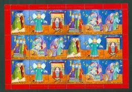 Denmark. Christmas Sheet 2012. Danish Church Calgary. Christmas Night. - Full Sheets & Multiples