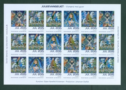 """Denmark Christmas Sheet 2015 Danish Church Calgary. 'Christmas Gospel"""". Riders - Full Sheets & Multiples"""