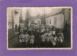 Carte-Photo -SARTON - Enfants - Soldats -  1940 - - Sonstige Gemeinden