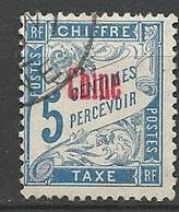 CHINE TAXE N° 1  OBL - Chine (1894-1922)
