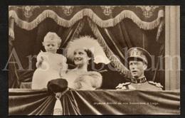 Postcard / ROYALTY / Belgique / België / Reine Astrid / Koningin Astrid / Koning Leopold III / Roi Leopold III / Liège - Liege