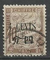 CHINE TAXE N° 21  OBL - Chine (1894-1922)