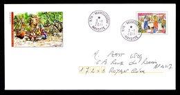 976 MAYOTTE Prêtt à Poster PAP   Le M'BIWI  Tàd MAMOUSZOU 3-11-2011    SUPERBE 2 Scan - Mayotte (1892-2011)