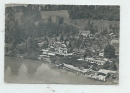 Weggis (Suisse, Lucerne) : Vue Aérienne Générale Au Niveau De L'Hotel Hertenstein Env 1955 GF. - LU Lucerne