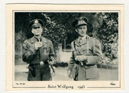 Small Card / ROYALTY / Belgique / België / Roi Leopold III / Koning Leopold III / Saint Wolfgang / 1945 - Familles Royales