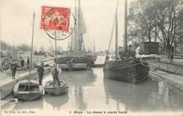 33 , BLAYE , Le Chenal A Marée Haute , * 405 27 - Blaye