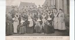 HAMME  OVERSTROOMING VAN 12 MAART 1906 DE DAMEN VAN HET KOMITEIT LIEFDADIGHEID - Hamme