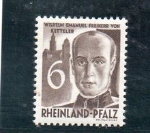 RENANIE 1948-9 * - Zone Française