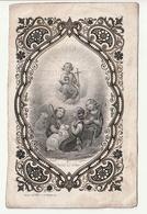 Décès Madame De PAUL DE BARCHIFONTAINE Née Octavie DE CARTIER Marchienne-au-Pont 1858 Dopter Paris Berger Angelots - Images Religieuses
