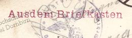 """Carte à Vue """"Rappenlochschlucht Gütle"""" Dornbirn 10.06.1940-> Italie Zensur/Censored/Censure OKW + Aus Dem Briefkasten !! - Allemagne"""