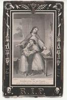 Décès Marie-Louise POULET Clabecq 1814 - 1869 - Images Religieuses