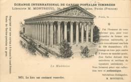 Echange International De Cartes Postales Timbrées , Librairie Montreuil , Théme Carte Postale , * 406 31 - Bourses & Salons De Collections