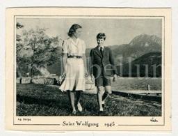 Small Card / ROYALTY / Belgique / België / Princesse Joséphine-Charlotte De Belgique / Prins Albert / Saint Wolfgang - Familles Royales