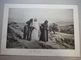 Héliogravure Braun - Les Disciples D'Emmaüs - Eugêne Girardet - Lithographies