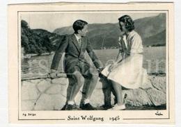 Small Card / ROYALTY / Belgique / België / Princesse Joséphine-Charlotte De Belgique / Prins Boudewijn / Saint Wolfgang - Familles Royales
