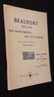 BEAUFORT EN VALLEE 49 ( BROCHURE HISTORIQUE DE 55 PAGES ) - Vieux Papiers