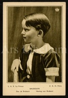 Large Postcard / ROYALTY / Belgique / België / Prins Boudewijn / Prince Baudouin / Unused - Familles Royales