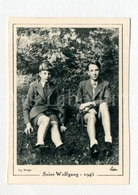 Small Card / ROYALTY / Belgique / België / Prins Boudewijn / Prince Baudouin / Prins Albert / Saint Wolfgang / 1945 - Familles Royales