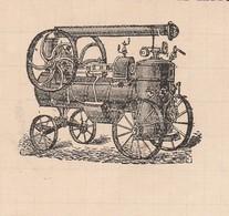 Facture 1909 / PASQUIER LEFEVRE / Entreprise De Battage / Agricole / 28 Baigneaux / Eure Et Loir - France