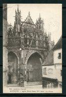 FRANCE- Carte Postale De 1921 De ALENCON (orne)- Y&T N°138 En Paire - Eglises Et Cathédrales