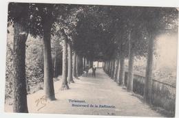 Tienen, Thienen, Tirlemont, Zeldzame Benaming Van Een Tiense Veste, Boulevard De La Raffinerie, TOPKAART!!!! - Tienen