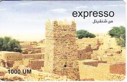 MAURITANIA - Landscape, Expresso Prepaid Card 1000 UM, Exp.date 31/12/08, Used - Mauritania