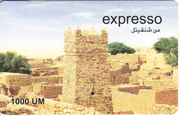 MAURITANIA - Landscape, Expresso Prepaid Card 1000 UM, Exp.date 31/12/08, Used - Mauritanien