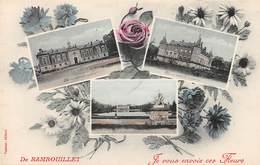 De RAMBOUILLET, Je Vous Envoie Ces Fleurs - Fantaisie - Multivues - Rambouillet