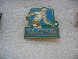 Pin's De L'Union Sportive De La Ville De FORBACH, Section Tennis De Table (Ping Pong) - Table Tennis