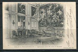 FRANCE- Carte Postale De 1905 De FONTAINEBLEAU (seine Et Marne)- Y&T N°111 - Châteaux