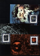 Germany / Deutschland DDR 1990 Space / Raumfahrt IAF Congress Interesting Maximumcards - Briefe U. Dokumente