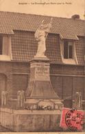 62 - ANGRES - LE MONUMENT AUX MORTS POUR LA PATRIE - Sonstige Gemeinden