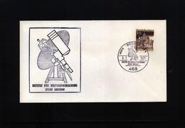 Germany / Deutschland 1971 Space / Raumfahrt  Interesting Cover - Briefe U. Dokumente