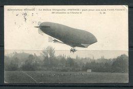 FRANCE- Carte Postale De 1906- Y&T N°135 - Dirigeables