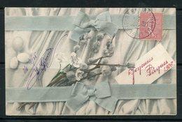 FRANCE- Carte Postale De 1906- Y&T N°129 - Pâques