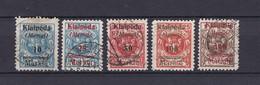 Memegebiet -  1923 - Michel 129/133 - Ungebraucht Mit Falz - 80 Euro - Memel (Klaïpeda)