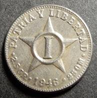 Cuba 1 Centavo 1946 - Cuba