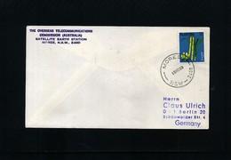 Australia 1969 Space / Raumfahrt  Moree Satellite Earth Station Interesting Cover - Ozeanien