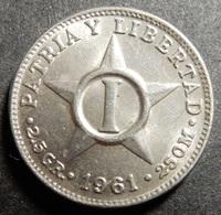 Cuba 1 Centavo 1961 Up To Top Grade! - Cuba