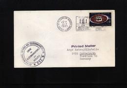 France 1971 Space / Raumfahrt  Pleumeur-Bodou Satellite Earth Station Interesting Cover - Briefe U. Dokumente