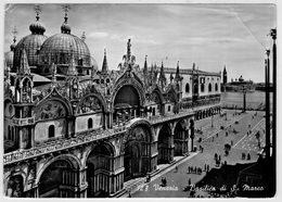 VENEZIA   BASILICA  DI  S.  MARCO             (VIAGGIATA) - Venezia