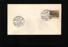 Germany / Deutschland 1969 Space / Raumfahrt  Interesting Cover - Briefe U. Dokumente