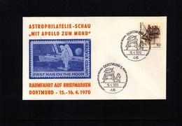 Germany / Deutschland 1970 Space / Raumfahrt  Interesting Cover - Briefe U. Dokumente